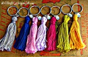 Image of Tassel Key Chains