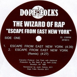 "Image of THE WIZARD OF RAP ""Escape from East New York"" ***SOLD OUT***"