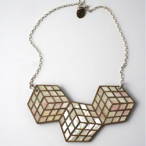 Image of Cube Necklace Medium