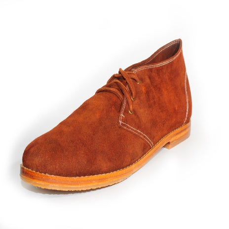 Image of The Geoffrey, Desert Boot - Ember Maroon - ON SALE $75.00 Free next day delivery!! AUS ONLY