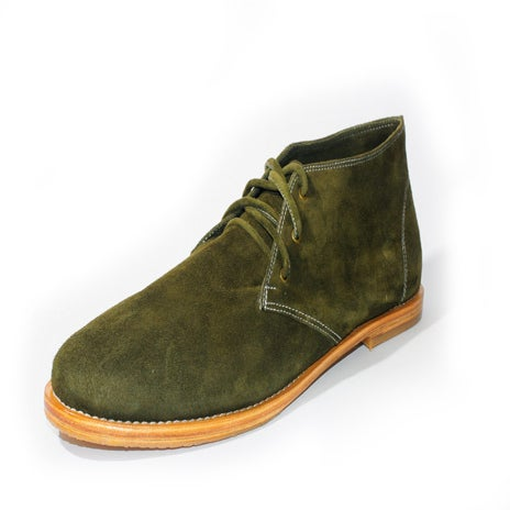 Image of The Geoffrey, Desert Boot - Forest Green