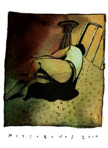 "Image of ""ON BED""  Limited Edition Archival Giclée Print"