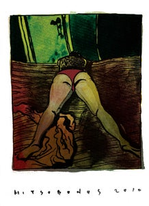 """Image of """"ON BED 2""""  Limited Edition Archival Giclée Print"""