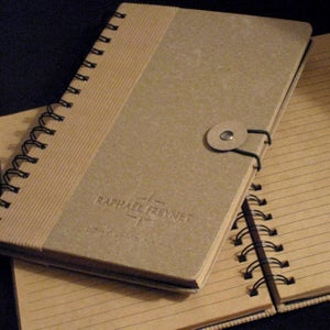 "Image of ""Don't Write On Me"" Notebook"