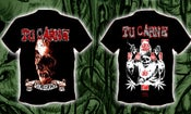 Image of TU CARNE - Goregrind T-SHIRTS black/gray/white/red