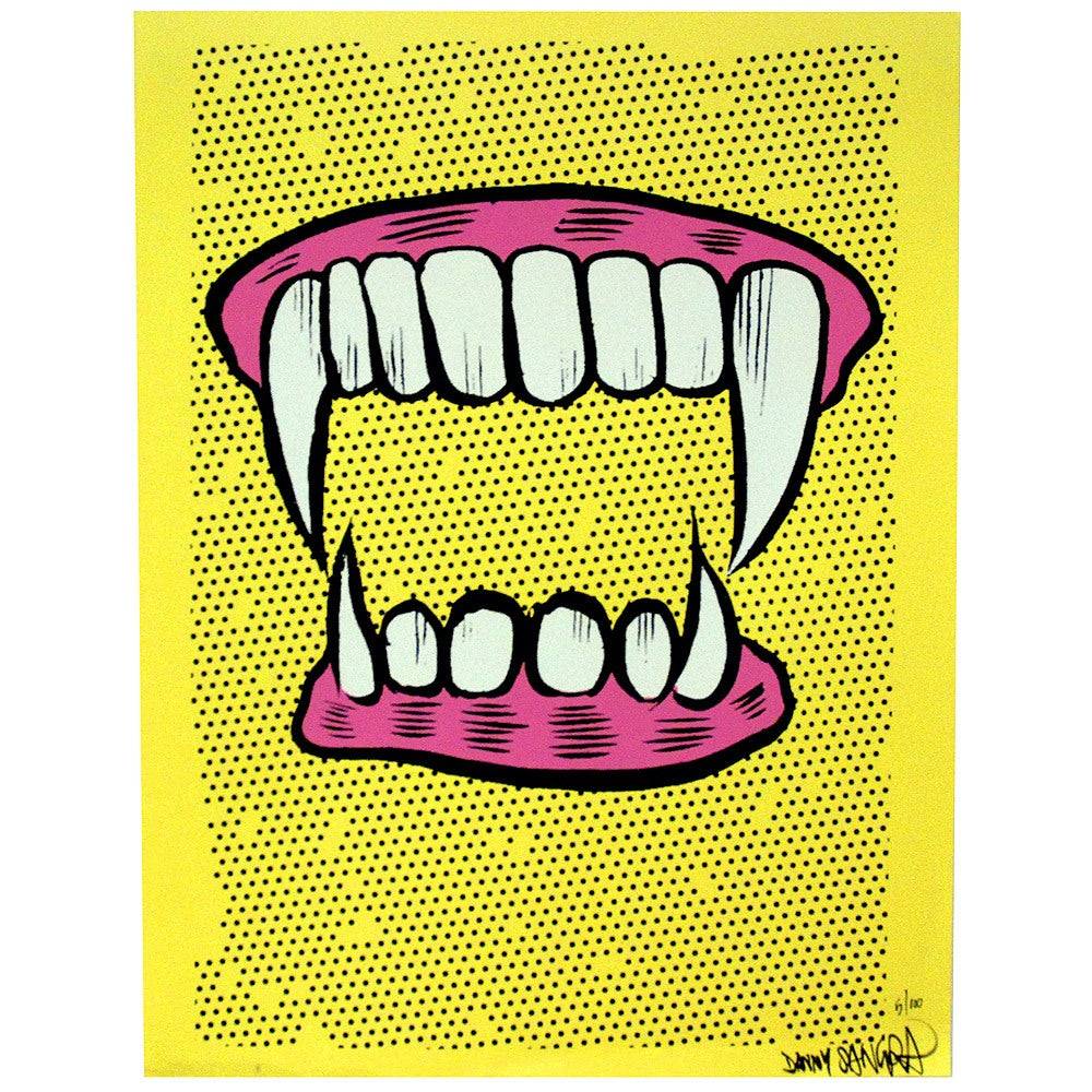 Image of Danny Sangra - Teef - Limited edition screen print