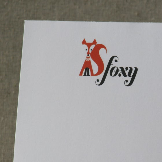 "Image of Notepad - ""Foxy"""