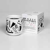 Image of Basic Shapes Candle - Black