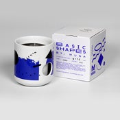 Image of Basic Shapes Candle - Blue