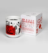 Image of Basic Shapes Candle - Red