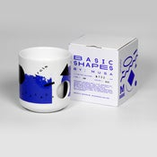 Image of Basic Shapes Cup - Blue