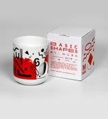 Image of Basic Shapes Cup - Red