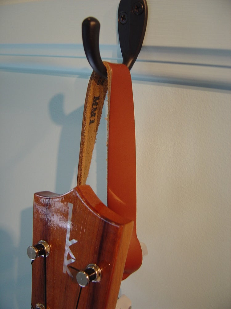 Image of Leather Ukulele Hanger