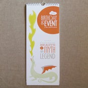 "Image of ""Fantastic Beasts"" Birthday & Event Calendar"