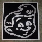Image of SHT! Head! (Black-Silver)