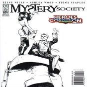 Image of MYSTERY SOCIETY #1 STEVE NILES signed HeroesCon Variant