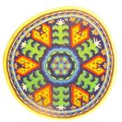 Image of Huichol Indian Beaded Prayer Bowl