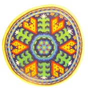 Image of Huichol Indian Beaded Prayer Bowl