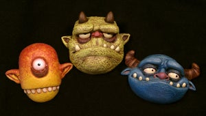 Image of ALL 3 Series #1 MONSTER MAGNETS