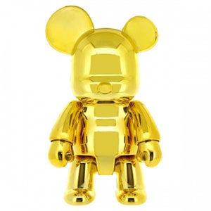 "Image of Metallic Gold Qee Bear 7"""
