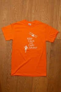 Image of Keep Calm and Cary Grant tee
