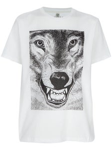Image of ARRAN GREGORY 'WOLF' PRINT T-SHIRT FOR JAGUARSHOES COLLECTIVE