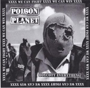 """Image of Poison Planet 'Boycott Everything' 12"""" EP (w/poster & B side screen print)"""