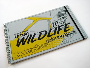 Image of The Mercer & Dibble Urban Wildlife Coloring Book {LIMITED EDITION}