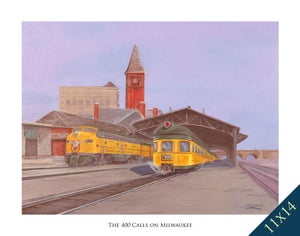 Image of The 400 Calls on Milwaukee (Print)