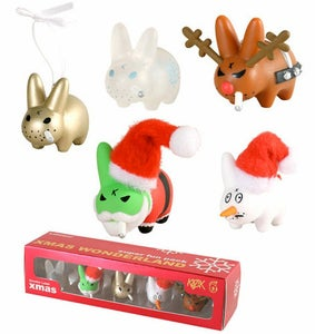 "Image of Kozik 1.5"" Smorkin' Labbit Xmas Super Fun Pack"