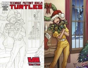 Image of Teenage Mutant Ninja Turtles #3 VA Comicon Variant