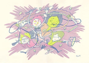 Image of SOY Riso print