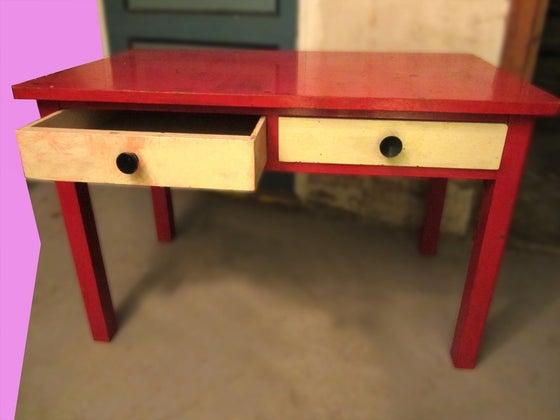 Image of Børne skrivebord
