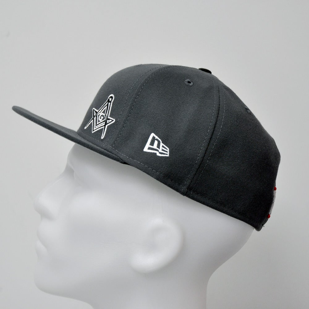 Image of New Era 5950 Fitted Cap - Graphite Flawless