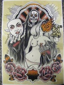 Image of Sweet Death - A3 flash print