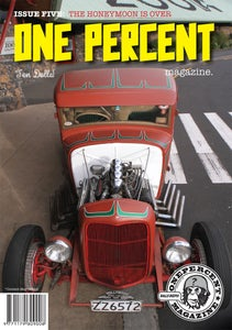 Image of OnePercent Magazine Issue 5