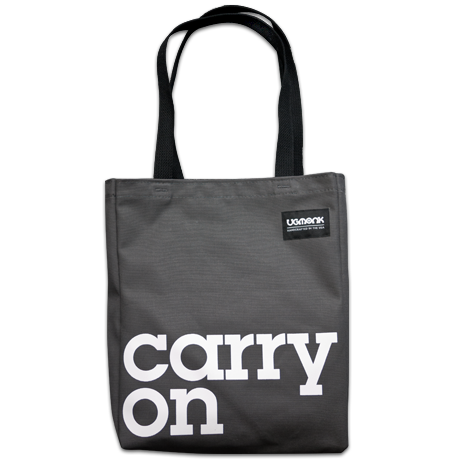 Image of CARRY ON (TOTE BAG)