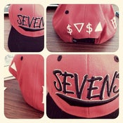 Image of Sevens x BBi SnapBack Collab ( Red & Black )
