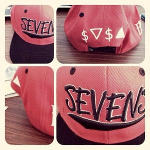 Image of Sevens x BBi SnapBack Collab ( Red & Black )