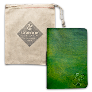 Image of PREMIUM LEATHER JOURNAL (GREEN)