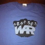 Image of **NEW** War T-shirt - Blue Medium