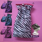 Image of  JET set pack Matching Headwrap & Pouch