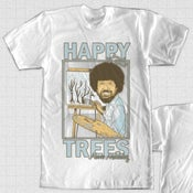 Image of Bob Ross tee