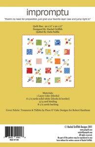 PS I QUILT — impromptu quilt pattern #108 (PDF VERSION) : impromptu quilt pattern - Adamdwight.com