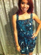 Image of starry night dress