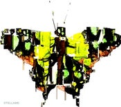 Image of Yellow Butterfly in Fragments T-Shirt