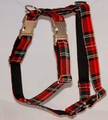 Image of Scottish Tartan Dog Harness