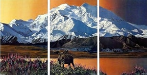 Image of The High and the Mighty, Triptych - Shipping Included