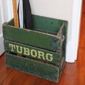 Image of Danish 'Tuborg' Crate