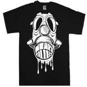 Image of We Are Rollers Gasmask Black T-Shirt